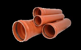 Трубы из пвх канализационные для наружной и внутренней прокладки