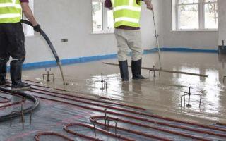 Трубы отопления в полу под цементную стяжку: какие выбрать