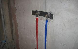 Водорозетка для подключения металлопластиковых и полимерных труб: как ее установить