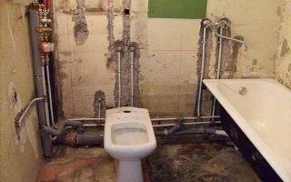 Замена труб в туалете и ванной: порядок действий и советы