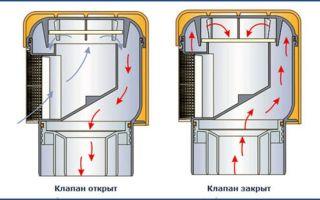 Клапан воздушный канализационный: принцип работы, разновидности и монтаж