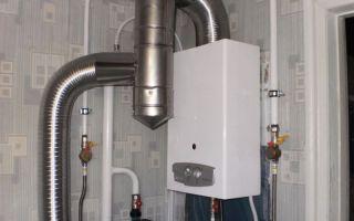 Дымоход для газовой колонки: особенности монтажа в квартире и частном доме