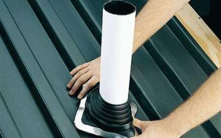 Герметизация печной трубы на крыше: для чего это нужно
