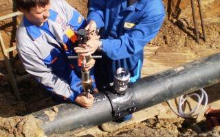 Как врезаться в чугунную, пластиковую или стальную водопроводную трубу под давлением