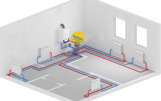 Рациональная прокладка труб контура отопления в частном доме