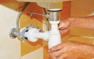 Как установить своими руками сифон для раковины в ванной или кухне и что для этого нужно