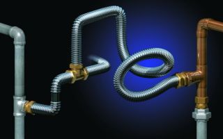 Нержавеющая гофрированная стальная труба для водопровода