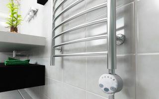 Электрический полотенцесушитель для ванной: виды, советы по выбору, монтаж