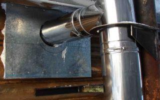 Труба из оцинковки для дымохода: решение проблем с коррозией