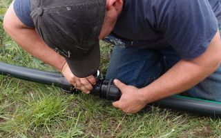 Монтаж и особенности труб пнд для водопровода