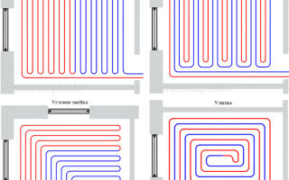 Расчёт трубы для тёплого пола и выбор способа монтажа системы