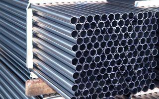 Труба круглая тонкостенная стальная