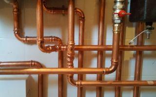 Монтаж медных труб для систем водоснабжения и отопления своими руками