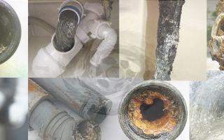 Как прочистить засорившуюся водопроводную трубу в домашних условиях