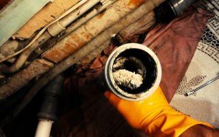 Чем и как прочистить канализационные трубы своими руками в домашних условиях