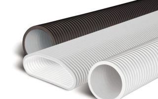 Вентиляционные трубы: гладкие и гофрированные пластиковые для вытяжки