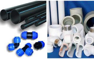 Способы применения пластиковых труб и их разновидности
