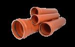 Труба канализационная из пвх рыжая: что это и где применяется