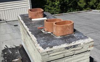 Гильзование дымохода: как реконструировать старый кирпичный дымоход?
