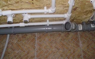 Монтаж и основные особенности пластиковых труб