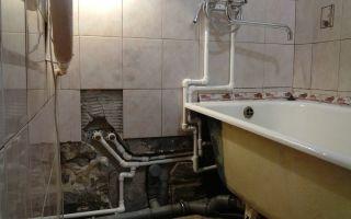 Как можно спрятать канализационные трубы в ванной и туалете: способы и их особенности