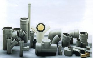Пластиковые трубы канализации и фитинги пвх