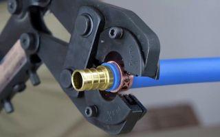 Какие нужны фитинги для монтажа труб из обычного и сшитого пэ