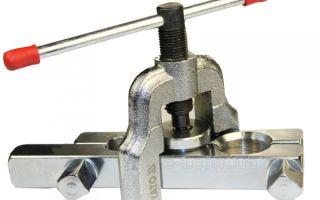 Развальцовка для обработки медных труб