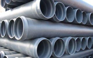 Напорные пвх трубы для устройства водопровода