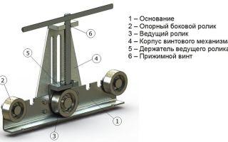 Ручной трубогиб: как он устроен и что нужно для сборки самодельного устройства
