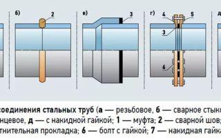 Соединение труб: разновидности стыковок, их характеристики и особенности