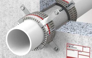 Противопожарная муфта: защитный элемент водопроводных и канализационных труб