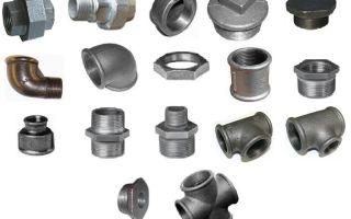 Сгоны для труб как одна из разновидностей фитингов для монтажа трубопроводов