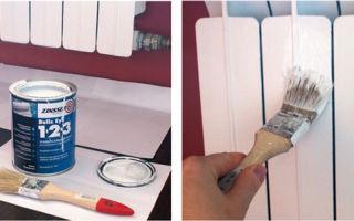 Краска для радиаторов отопления: разновидности, советы по выбору и использованию