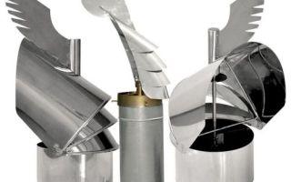 Флюгер на дымоход своими руками: как его сделать