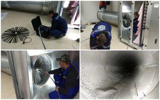 Чистка воздуховодов вентиляции: как провести такую работу
