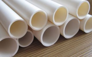 Трубы из поливинилхлорида (пвх) и их применение