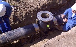 Врезка в трубу водопровода: наиболее практичные методы