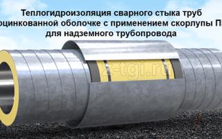 Заделка стыков труб, покрытых ппу изоляцией: материалы и методы