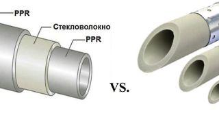 Труба полипропиленовая, армированная алюминием или стекловолокном: преимущества и особенности