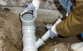Как нужно соединять канализационные трубы: полезные советы специалистов