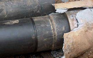 Бестраншейная замена канализационных труб: способы и технологии