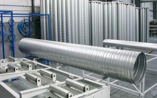 Производство воздуховодов: обзор методов изготовления прямоугольных и круглых воздуховодов