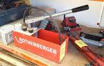 Ручной гидравлический пресс для опрессовки трубопроводов: устройство, принцип действия и параметры выбора
